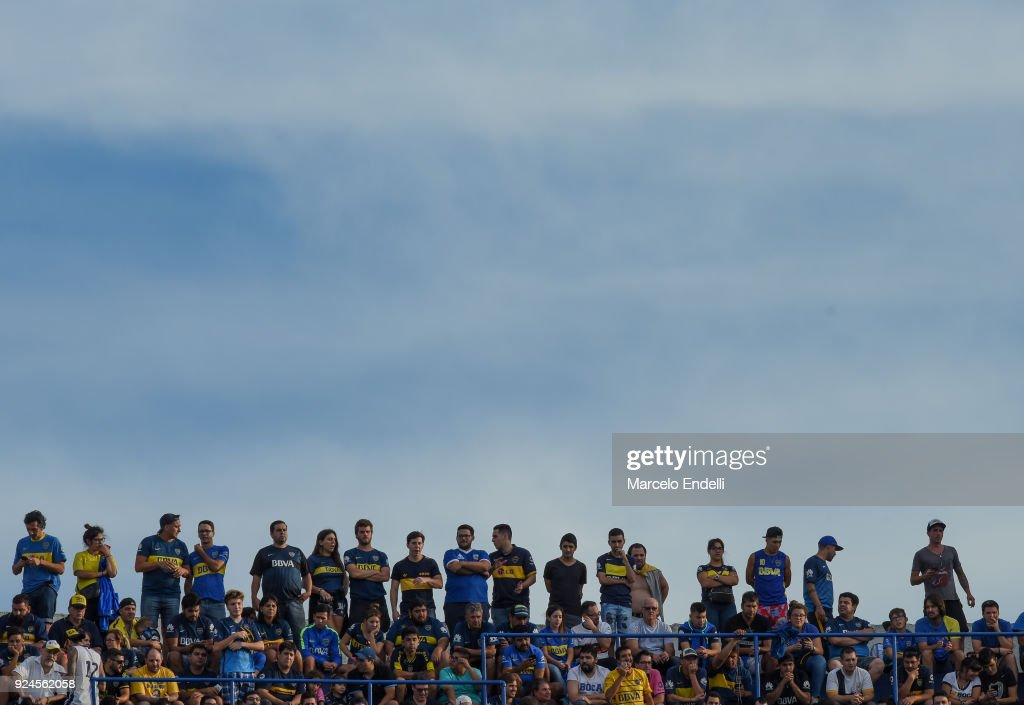 Boca Juniors v San Martin de San Juan - Superliga 2017/18