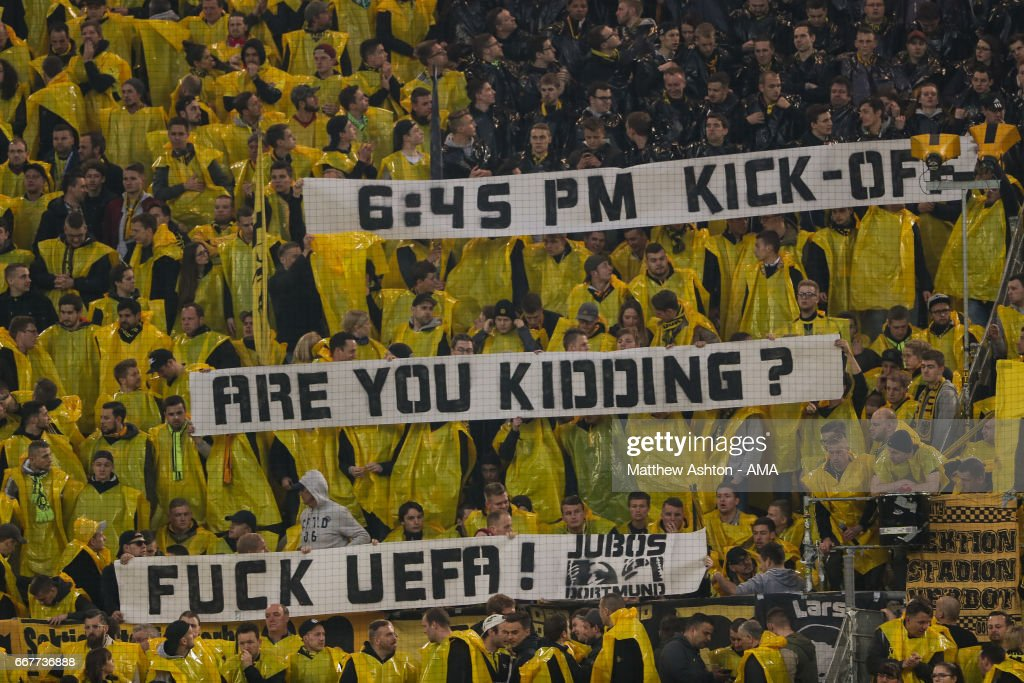 Borussia Dortmund v AS Monaco - UEFA Champions League Quarter Final: First Leg : News Photo