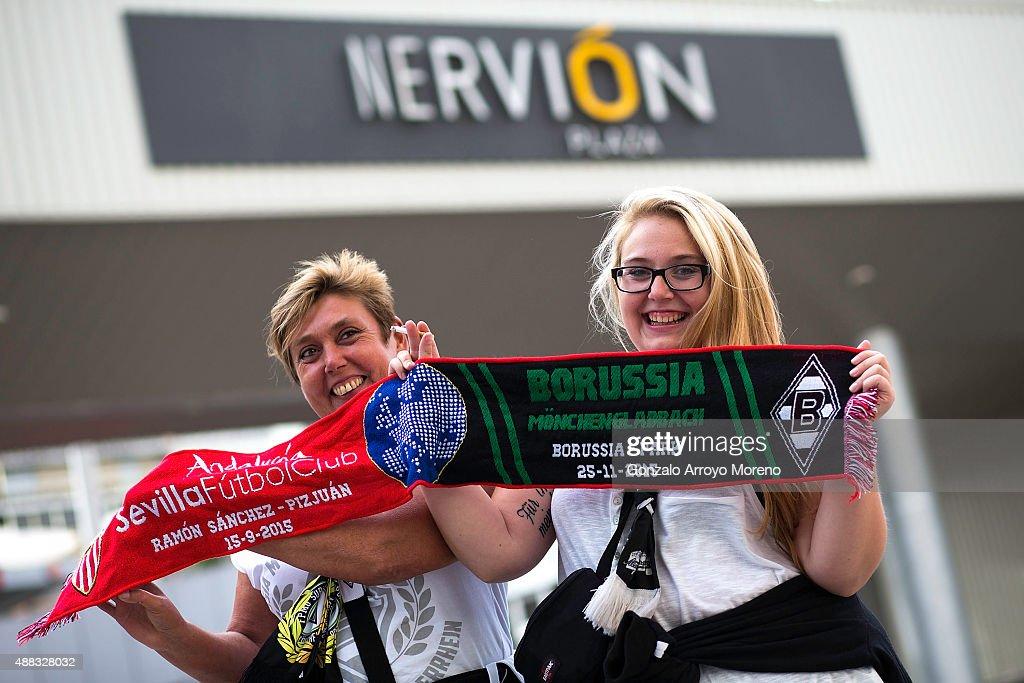 Sevilla FC v VfL Borussia Monchengladbach - UEFA Champions League : News Photo