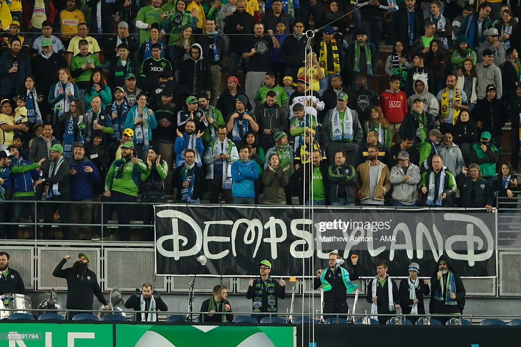 Seattle Sounders v Club America - CONCACAF Champions League : News Photo