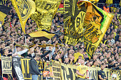 london england fans dortmund are seen