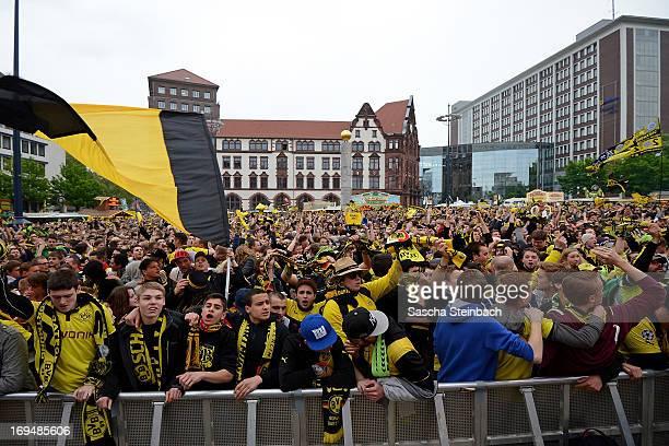 Public Viewing In Dortmund Borussia Dortmund V Fc Bayern Muenchen
