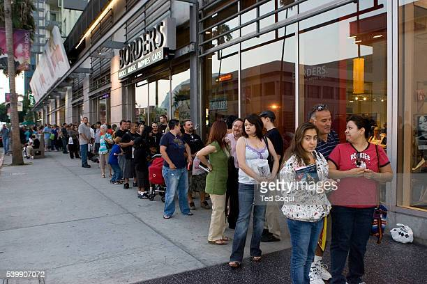 Fans of Duane 'Dog the Bounty Hunter' Chapman line up around the block of Borders bookstore in Hollywood Chapman was there for a book signing...