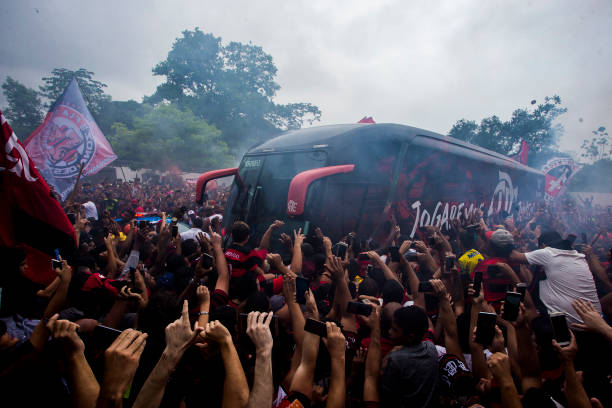 BRA: Flamengo Travel To Lima For Copa CONMEBOL Libertadores 2019 Final Against River Plate