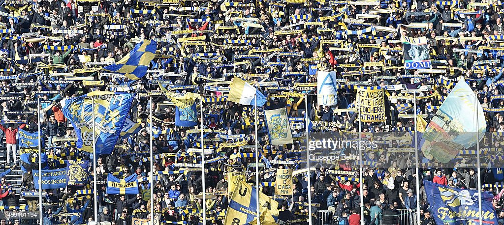 Frosinone Calcio v Hellas Verona FC - Serie A : News Photo