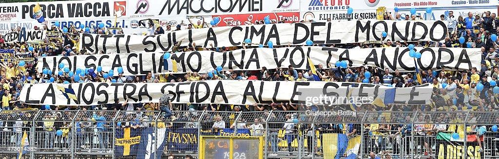 Frosinone Calcio v FC Crotone - Serie B : News Photo