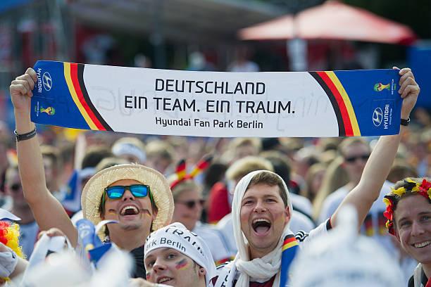 DEU: Germany Fans Watch 2014 FIFA World Cup Final