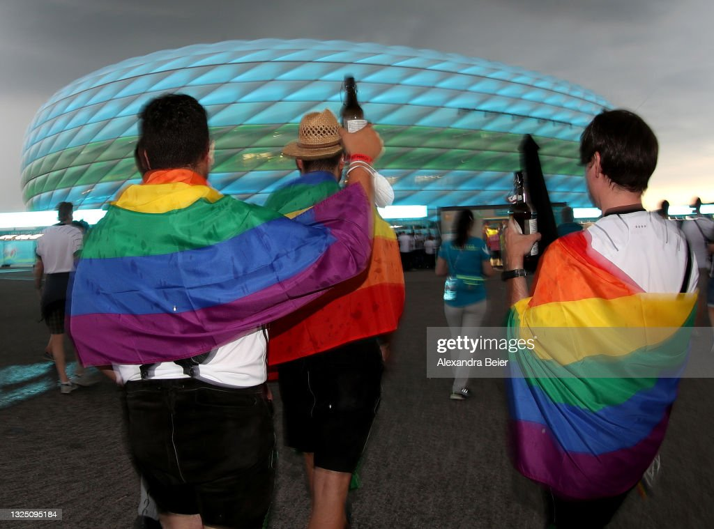 Fans During EURO 2020 : News Photo