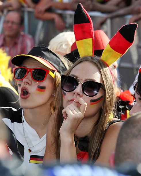 DEU: Germany Fans Watch 2014 FIFA World Cup