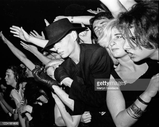 Fans of Goth Rock band Fields Of The Nephilim London September 1990