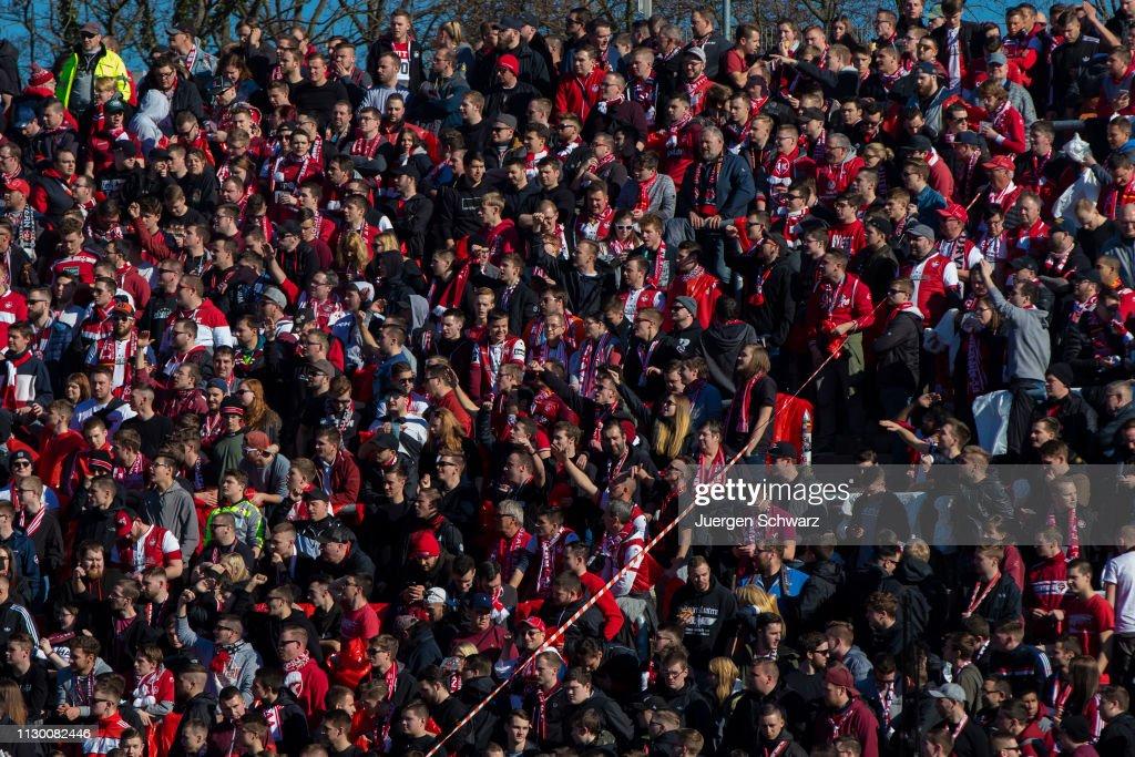 DEU: Karlsruher SC v 1. FC Kaiserslautern - 3. Liga