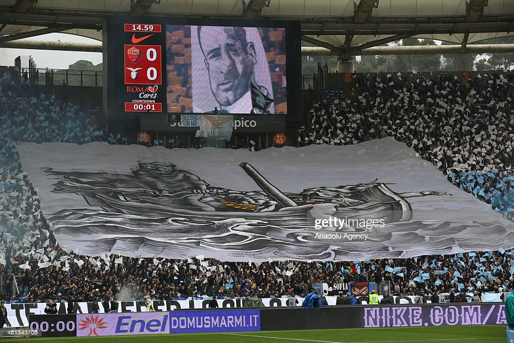 AS Roma v Lazio : News Photo