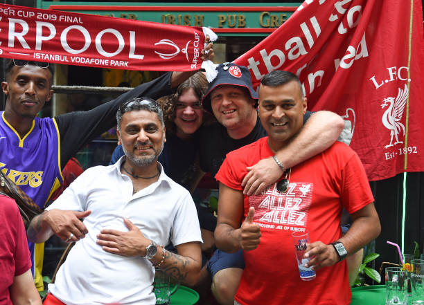 SUPER COUPE EUROPE UEFA 2019 Fans-of-liverpool-in-taksim-square-before-the-uefa-super-cup-between-picture-id1167978266?k=6&m=1167978266&s=612x612&w=0&h=ppQ3xo3k7CfcA5Smg_i8z6BRvIrNl1yEz0oa0bfa0Ew=