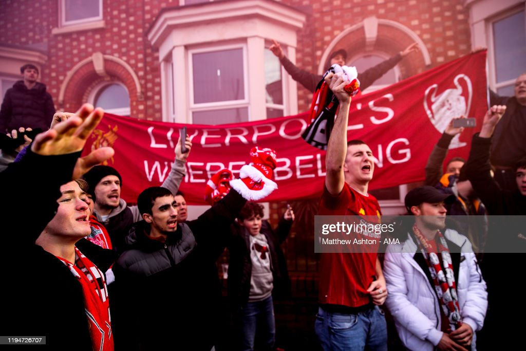 Liverpool FC v Manchester United - Premier League : Nachrichtenfoto