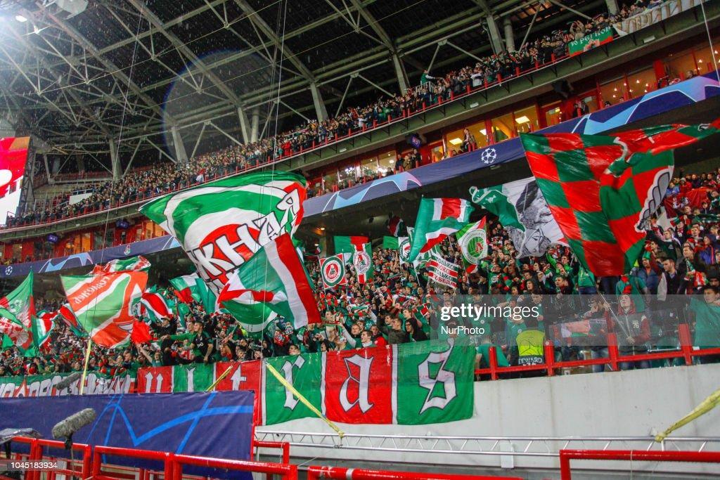 FC Lokomotiv Moscow v FC Schalke 04 - UEFA Champions League Group D : ニュース写真
