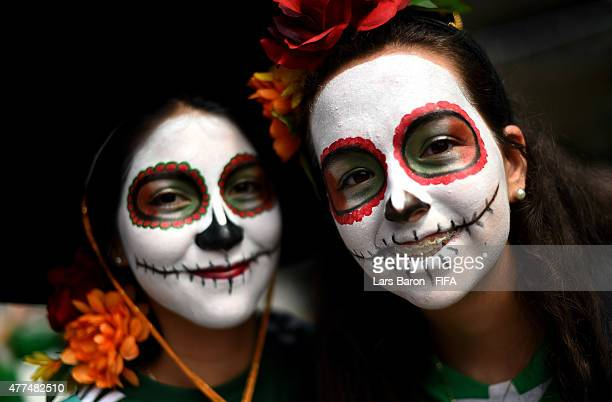 Fans of Mexico are seen prior to the FIFA Women's World Cup 2015 Group F match between Mexico and France at Lansdowne Stadium on June 17 2015 in...
