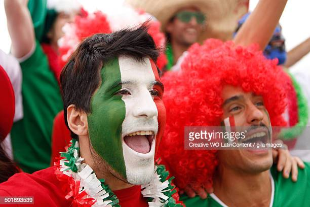 Fans of Mexico