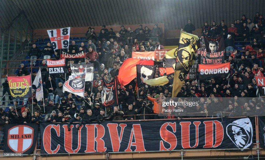 UC Sampdoria v AC Milan - Coppa Italia : News Photo