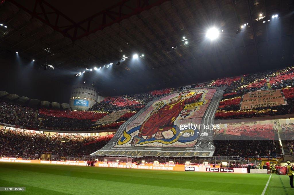AC Milan v FC Internazionale - Serie A : ニュース写真