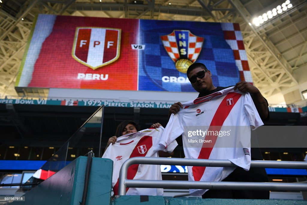 Croatia v Peru - International Friendly