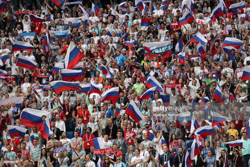 Russia v New Zealand: Group A - FIFA Confederations Cup Russia 2017 : Nachrichtenfoto