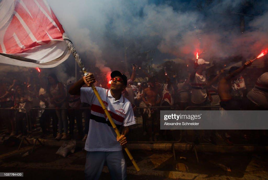 Sao Paulo v America MG - Brasileirao Series A 2018