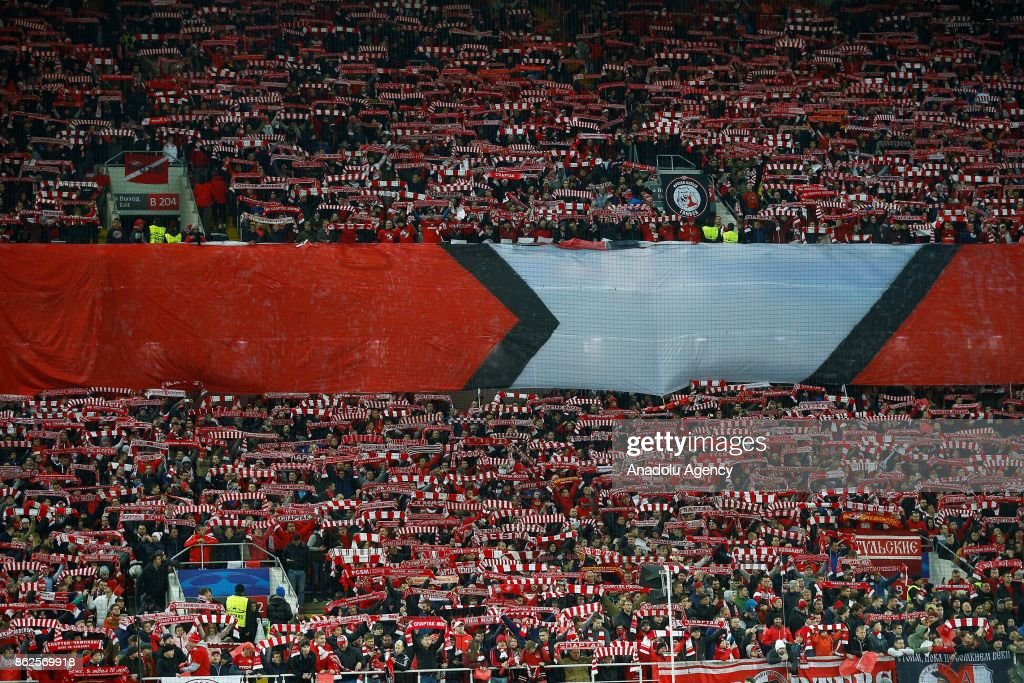 Spartak Moscow vs Sevilla FC : UEFA Champions League : News Photo
