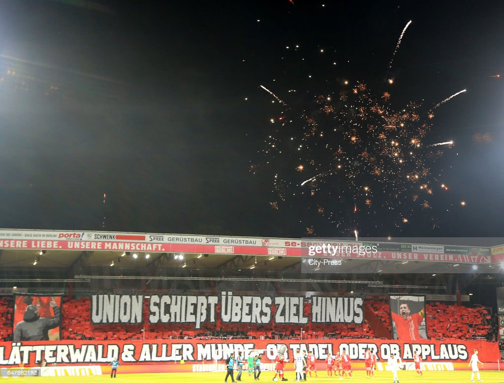 1st FC Union Berlin v FC Wuerzburger Kickers - 2nd Bundesliga : Nachrichtenfoto