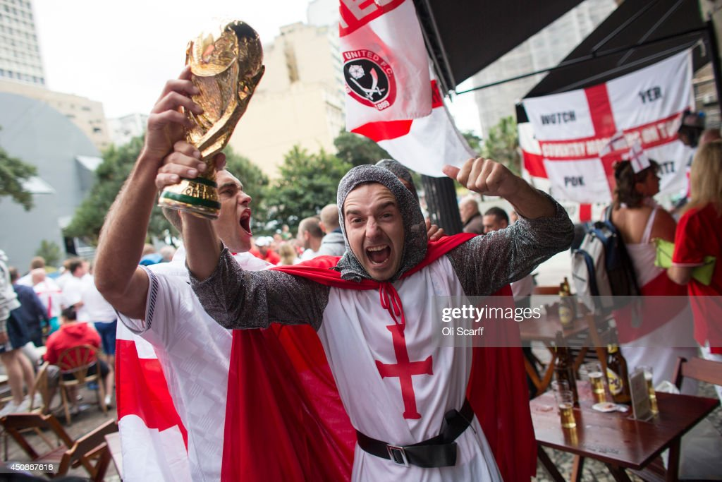 England Fans World Cup Tour - Week One : News Photo