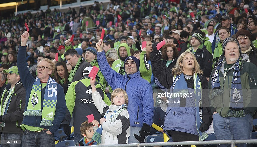 San Jose Earthquakes v Seattle Sounders : News Photo