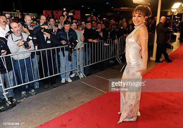 Fans photograph adult film actress Cytherea as she arrives at the 28th annual Adult Video News Awards Show at the Palms Casino Resort January 8 2011...