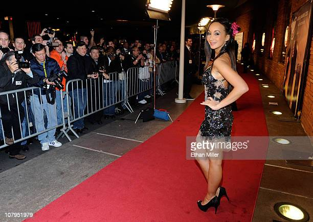 Fans photograph adult film actress Katsuni as she arrives at the 28th annual Adult Video News Awards Show at the Palms Casino Resort January 8 2011...