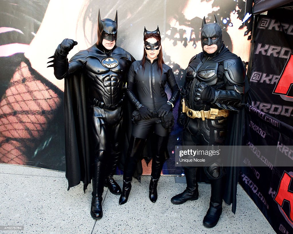 Warner Bros. And DC Comics Super Hero World Record Event : News Photo