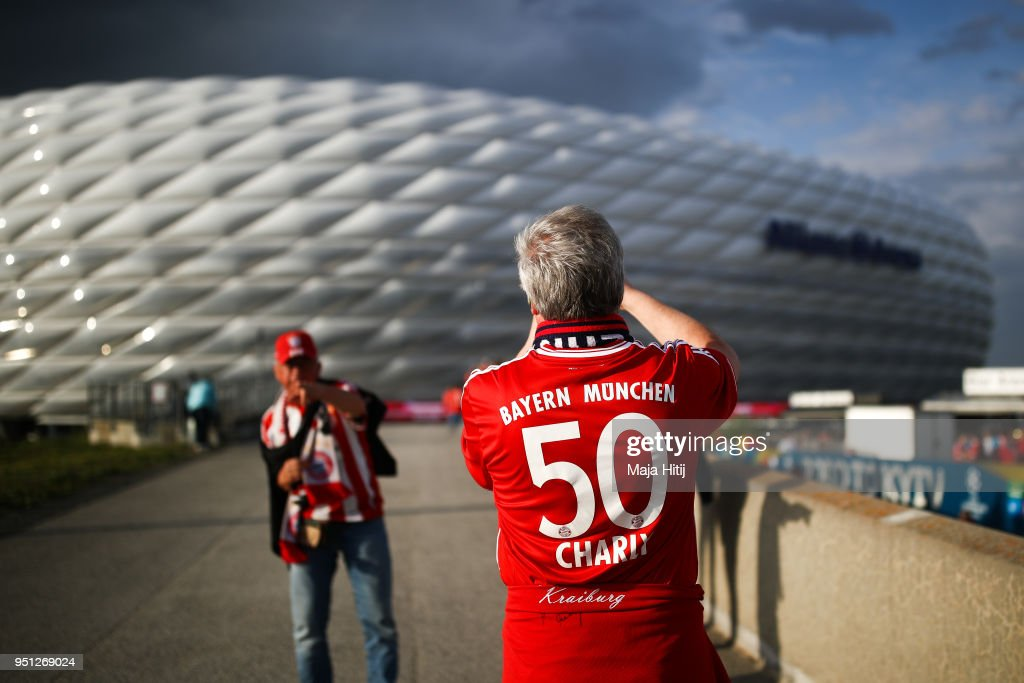 Bayern Muenchen v Real Madrid - UEFA Champions League Semi Final Leg One : News Photo