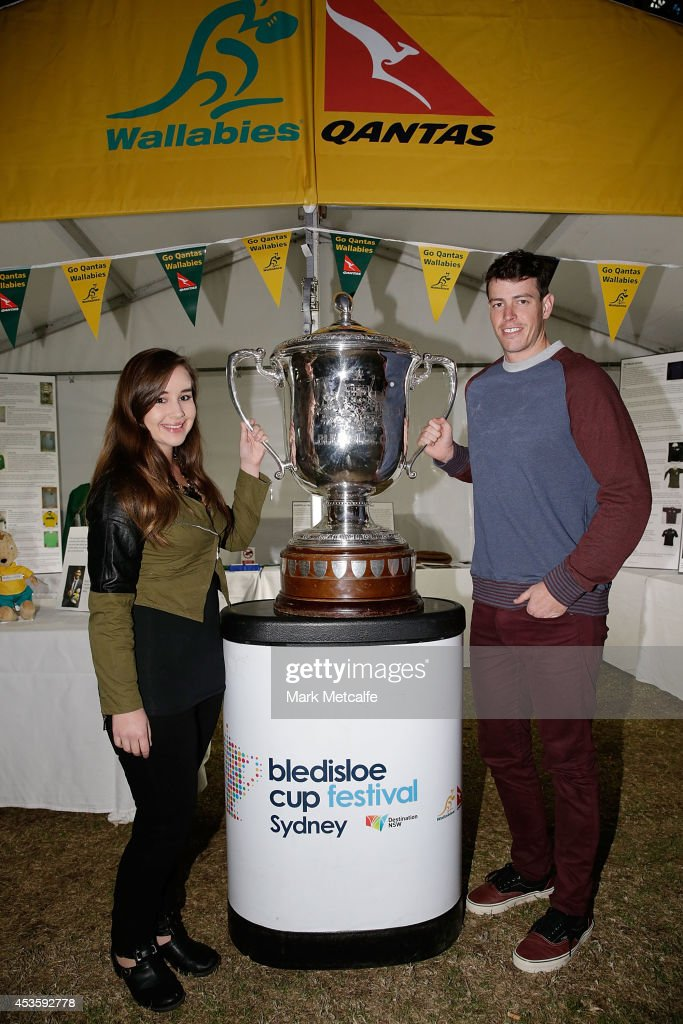 Bledisloe Cup Fan Day : News Photo