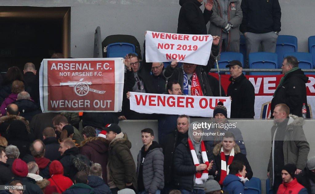 Brighton and Hove Albion v Arsenal - Premier League : News Photo