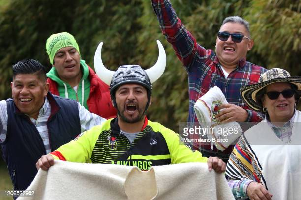 Fans / Public / during the 3rd Tour of Colombia 2020, Stage 5 a 180,5km stage from Paipa to Zipaquirá / @TourColombiaUCI / #TourColombia2020 / on...