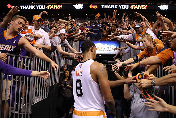 Channing Frye of the Phoenix Suns