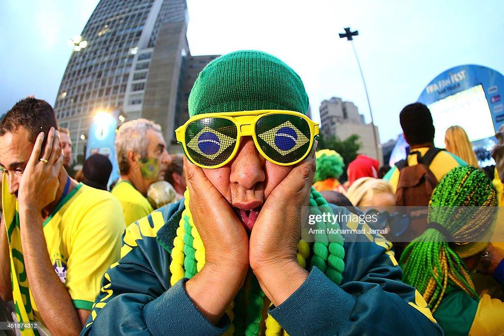 FIFA Fan Fest in Sao Paulo - 2014 FIFA World Cup Brazil : News Photo