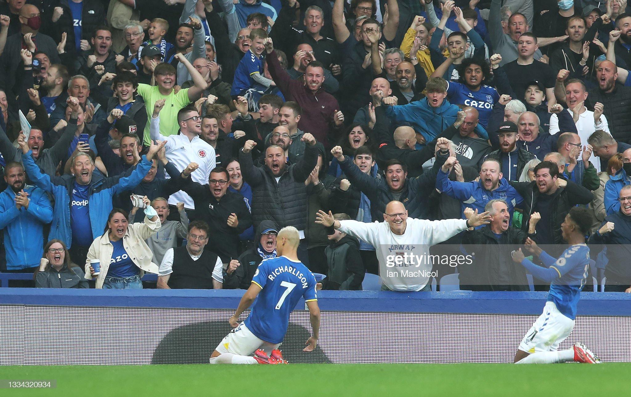An emotional weekend as fans return to Premier League stadiums