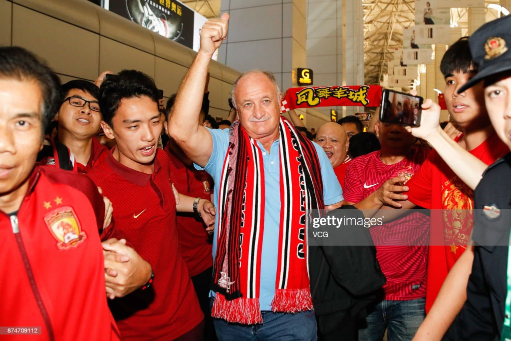 Luiz Felipe Scolari Leaves China