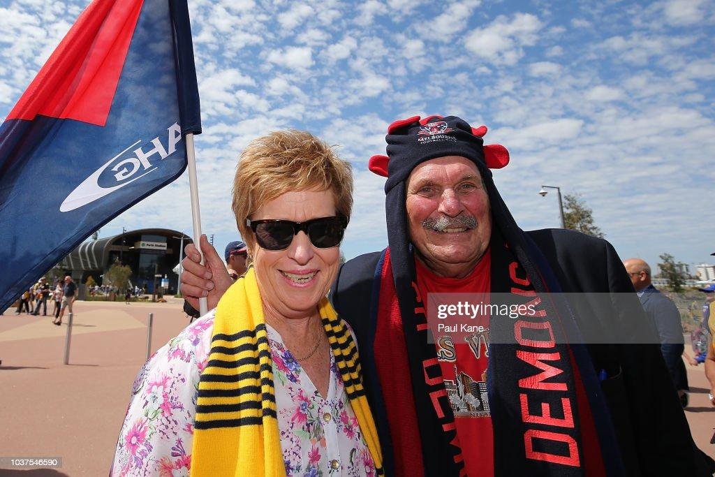 AFL Preliminary Final - West Coast v Melbourne