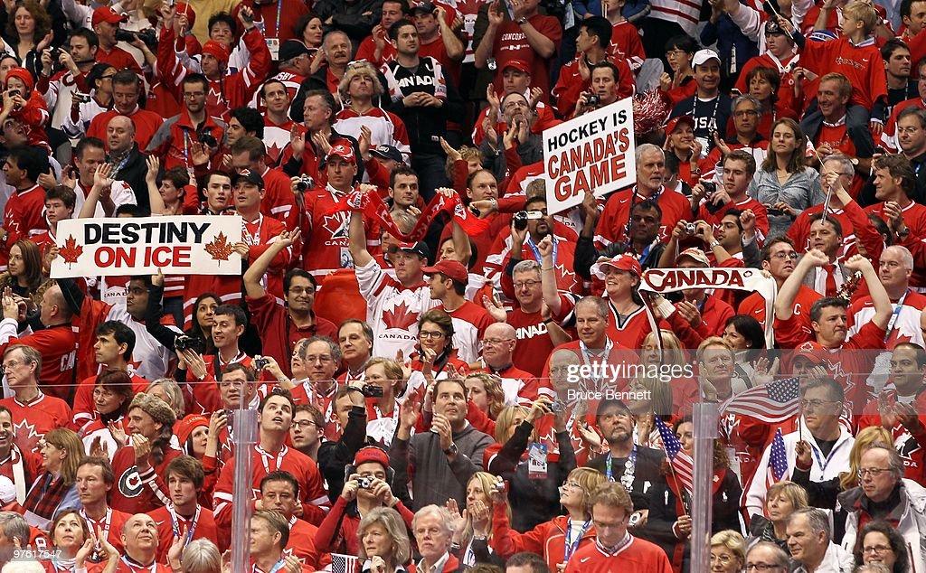 Картинки по запросу Canada fans waves in hockey