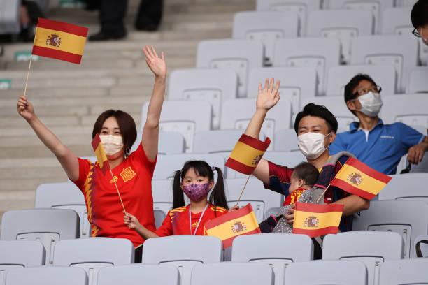 JPN: Spain v Cote d'Ivoire: Men's Football Quarterfinal - Olympics: Day 8