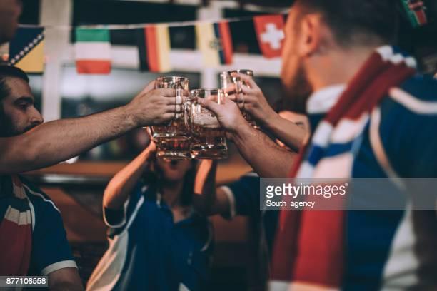 Fans toast