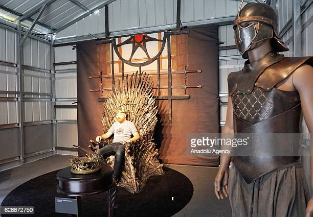 Fans visit the fan event to celebrate the release of the Game of Thrones The Complete Sixth Season Bluray and DVD in Hollywood California on December...