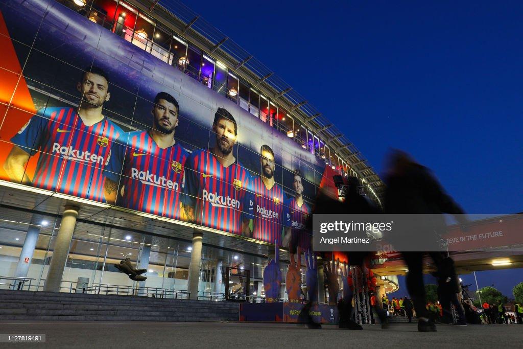 ESP: FC Barcelona v Real Madrid - Copa del Rey Semi Final
