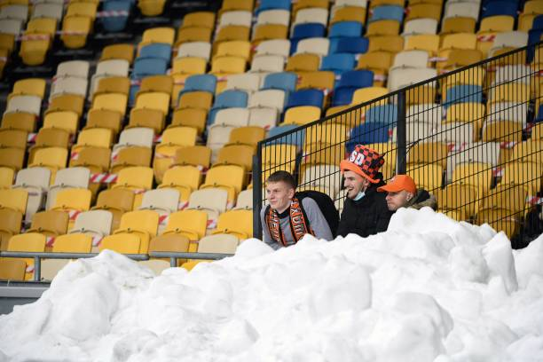 UKR: Shakhtar Donetsk v Maccabi Tel Aviv  - UEFA Europa League Round Of 32 Leg Two