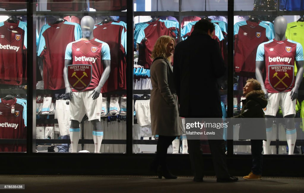 West Ham United v Leicester City - Premier League : Nachrichtenfoto