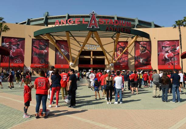 CA: Detroit Tigers v Los Angeles Angels